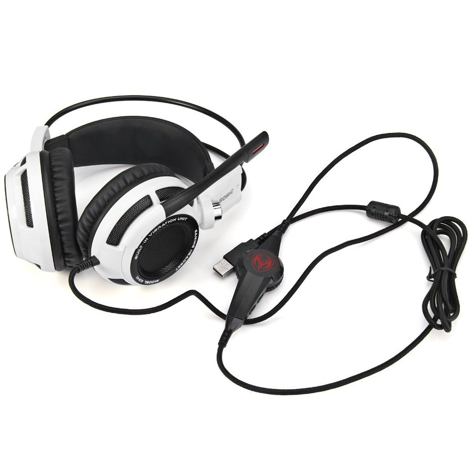 c5bc8940025 Somic G941 Professional Gaming Headset 7.1 Surround Sound Vibration  Function USB Gaming Headphone For PC Games-in Headphone/Headset from  Consumer ...