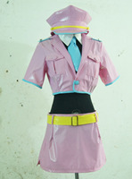2016 Custom Made Nitro Super Sonic Super Sonico Anime Space Police Cosplay Costume With Hat