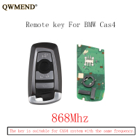 QWMEND 3pcs*868Mhz Smart Remote Key Keyless Fob For BMW F CAS4 3 5 7 Series F01 F02 F03 F04 F11 F07 F10 F30 Original keys