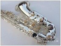 Wysoka jakość Nowy Francuski 54 srebrzenia saksofon saksofon altowy saksofon E flat Top music Mosiądzu Profesjonalne darmowa wysyłka