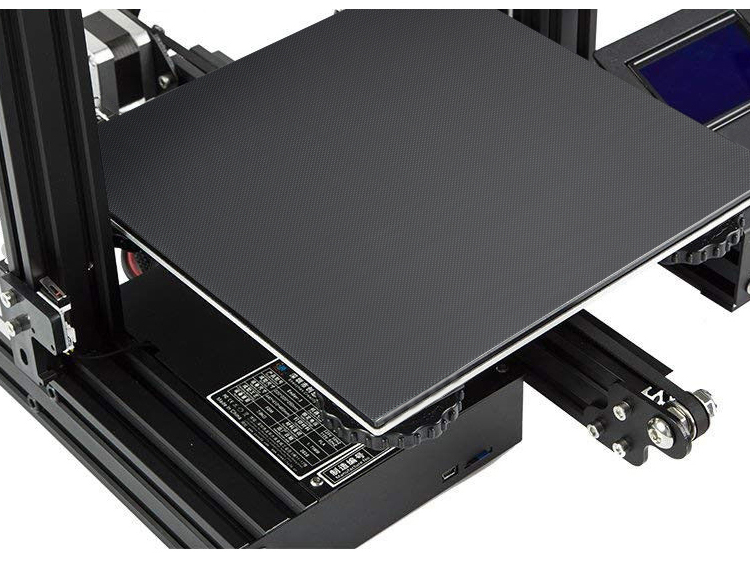 Imprimante 3D lit chaud treillis plaque de verre film aluminium substrat lit chaud
