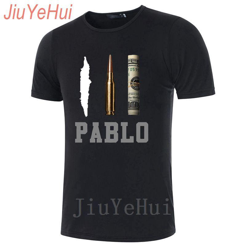 Brand Men's Narcos Pablo Escobar   T  -  shirt   Clothing   T     Shirts   Men Tshirt Cotton Hip Hop Men's Tshirt O Neck Tees Tops