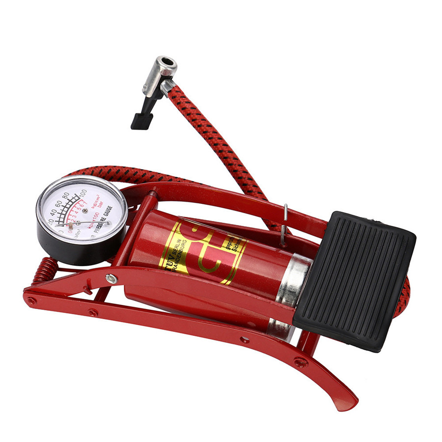 Extra Large Cylinder Bicycle Mini Bike Foot Operated Tire