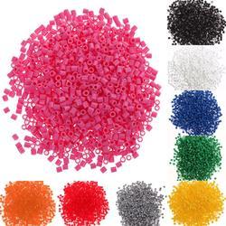1000 pièces 5mm EVA pour Hama/Perler perles jouet enfants artisanat bricolage fabrication artisanale fusible perle multicolore créatif début jouets éducatifs cadeaux