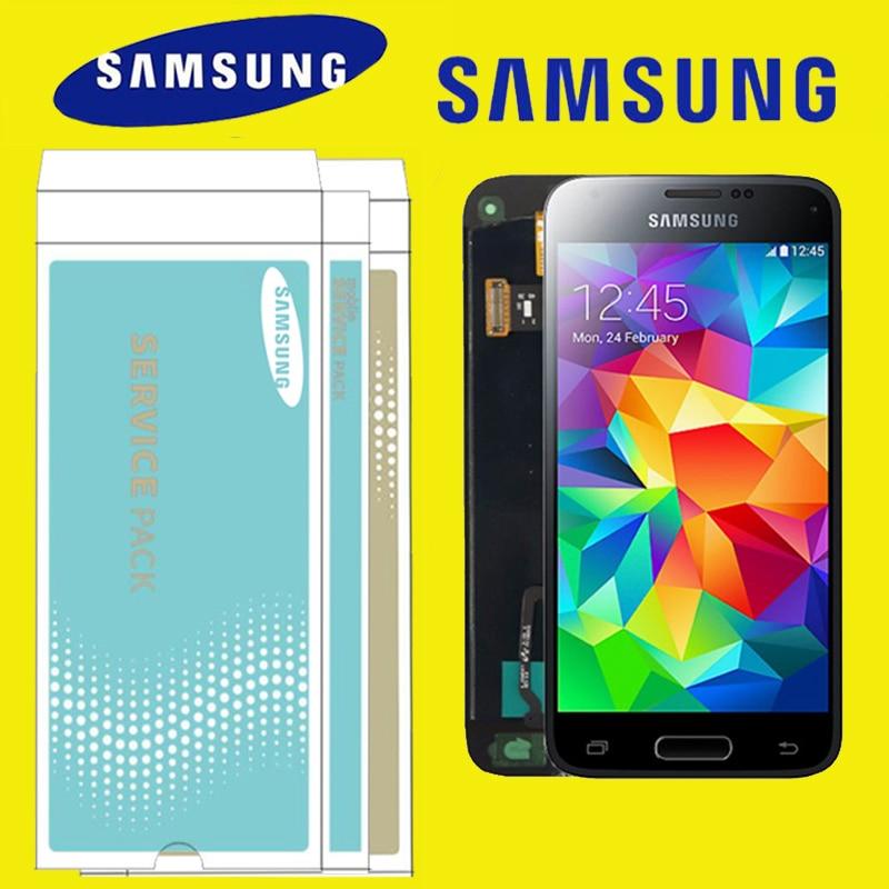 ORIGINAL 4 5 LCD for SAMSUNG Galaxy S5 Mini Display G800 G800F G800H Touch Screen Digitizer