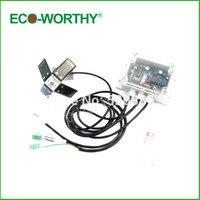 Двухосевой Солнечный трекер отслеживания линейный контроллер привода для использования солнечной панели