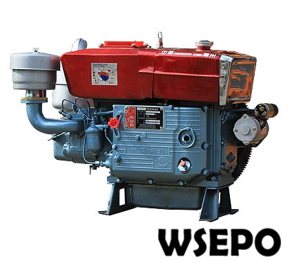 Factory Direct Supply! WSE-ZS1115 20HP Single Cylinder Water Cooled 4-stroke Diesel Engine with Electric Start