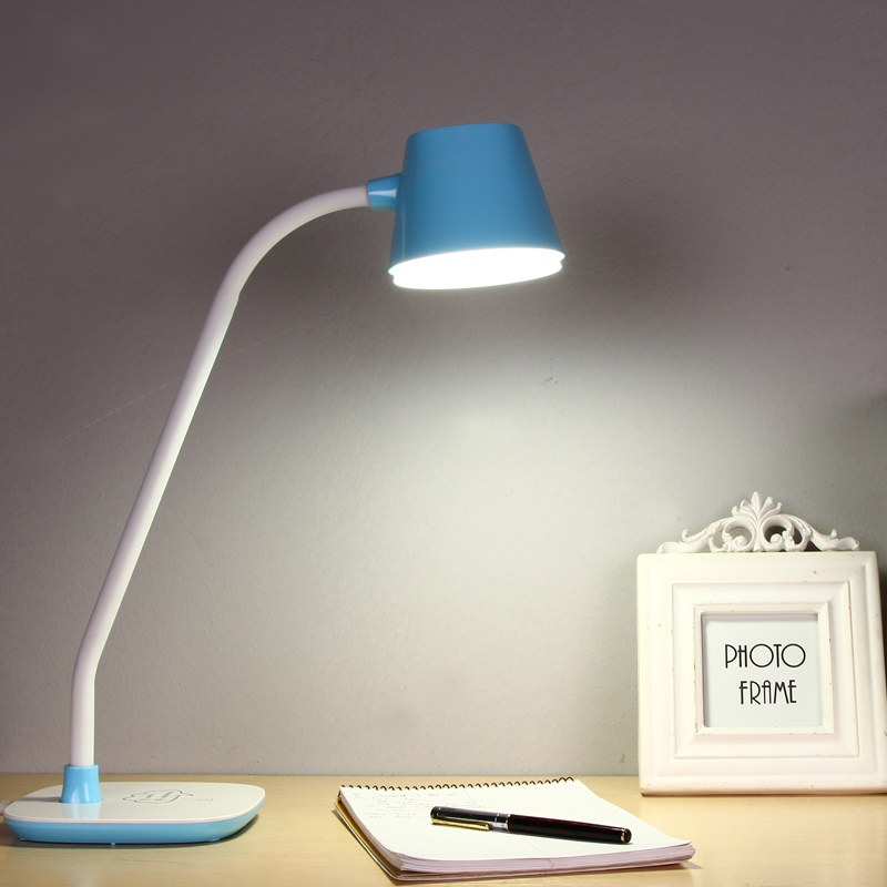 YAGE Desk Lamp LED Reading Table Lamp Night light Study Lamp for Work Non-Limit Brightness Touch On / Off Light EU/USA/UK Plug 48 leds touch on off switch desk lamp adjusted brightness dimmer foldable rechargeable led table lamps reading light