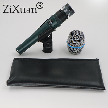 10pcs Real Dynamic BETA87A !Top Quality Beta 87A Supercardioid Condenser Vocal Microphone With ideamedia Amazing Sound i!