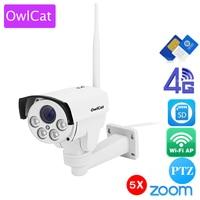OwlCat 3516C 1 2 8 SONY323 1080P 960P 4X Zoom Auto Focus PTZ HD Bullet IP