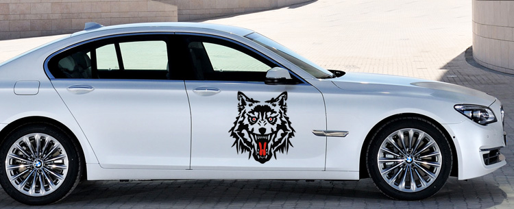 High Quality Adorn Cover PromotionShop For High Quality - Cool car decals designcar styling cool cool car body garlandconcise fashion design