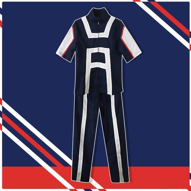 9d4246f53ab3 Anime My Hero Academia Cosplay Uniform Bakugou Katsuki Midoriya Izuku Boku No  Hero Academia U.A. High