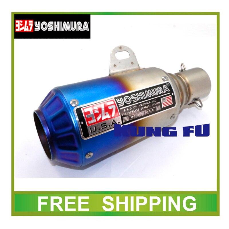 ✅Yoshimura escape silenciador tubo GY6 CBR CBR125 CBR250 CB400 ...