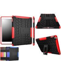 Hot Sale New Brand For Ipad Air 2 Ipad 6 Case Hybrid Armor Shockproof Rugged Dual