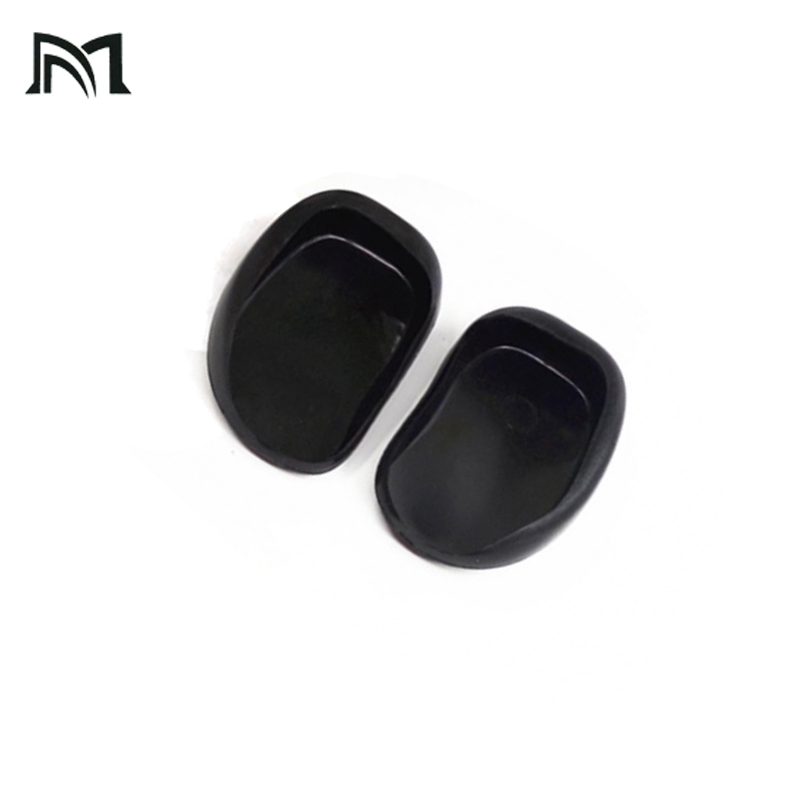 Drop-shopping Salon Hair Dye Transparent Black Soft Silicone Ear Cover Shield Barber Shop Anti Staining Earmuffs Protect Ears
