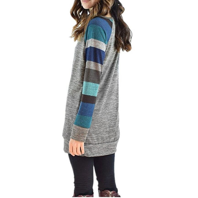 LASPERAL-2017-Autumn-Winter-Tee-Shirt-Women-Long-Sleeve-O-Neck-Striped-Patchwrork-T-Shirt-Casual (3)