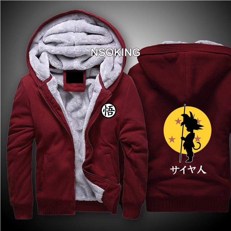 Autunno Inverno Studente Adulto Uomini Hoodie Dragon Ball Super Son Goku Cosplay Cappotto Anime DragonBall Z Felpa