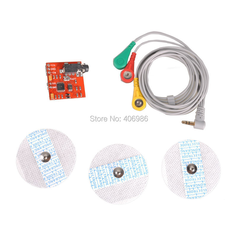 3pcs/lot Muscle Sensor Module  for Arduino Specially Designed For Microcontrollers FZ1585