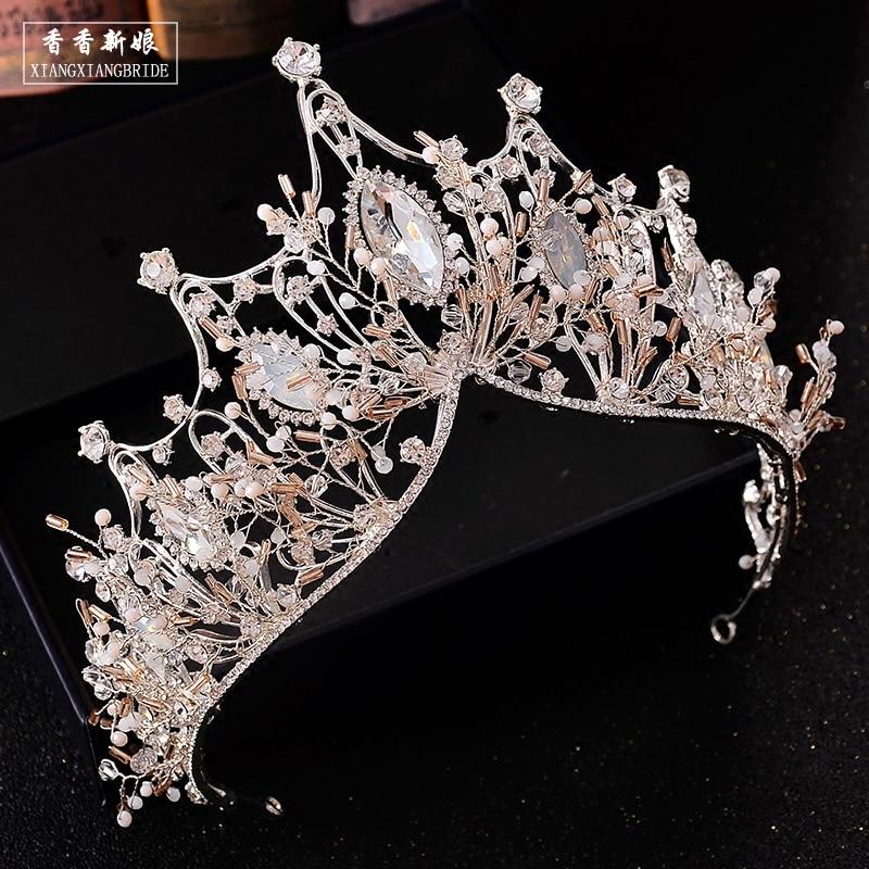 ... ThyWay Vintage Crystal Diamond Bride Bridal Wedding Hair Head Band Wear  Rhinestone Jewelry Headdress Headband Tiara ... 84e043a3b4b4
