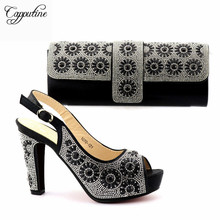 Capputine Latest Italian Shoes And Bags To Match Shoes With Bag Set Bag and Shoes Set Italy Nigerian Party Shoes TX-1070