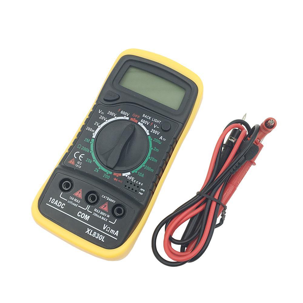 Prix pour Haute Qualité Numérique LCD Multimètre Voltmètre Ampèremètre AC DC OHM Volt Testeur Courant de Test Vente Paquet