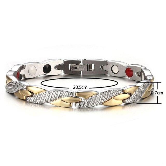 Купить welmag влюбленных модный магнитный браслет для здоровья браслеты