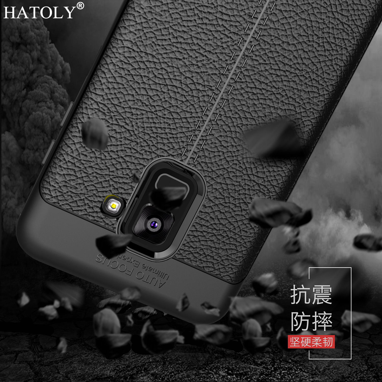 sFor Cover Samsung Galaxy A8 2018 Case Rubber Silicon Soft Phone Case for Samsung Galaxy A8 2018 Cover for Samsung A8 2018 A530F