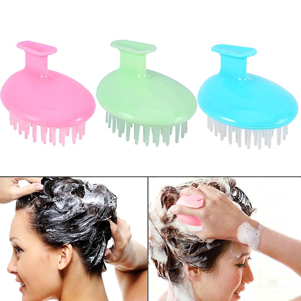 Portable Mini Head Massage Comb,Head Massage Brush Hair Scalp Massage Comb Brush Unisex Massage Tool Improve Hair Growing