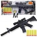 Hot mini brinquedos ar arma arma de brinquedo macio arma de paintball armas nerf balas para armas de ar nerf armas para meninos nerf armas pistola carabina de ar w086