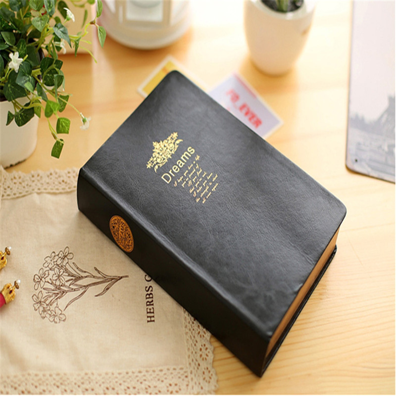The latest ultra-thick dream theme notebook school office stationery planner sketch Christmas business stationery gift sosw fashion anime theme death note cosplay notebook new school large writing journal 20 5cm 14 5cm