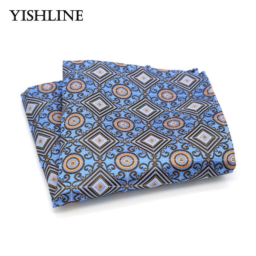 HN39Z Handkerchief 100% Natural Silk Satin Mens Hanky Wedding Pocket Square Handkerchief