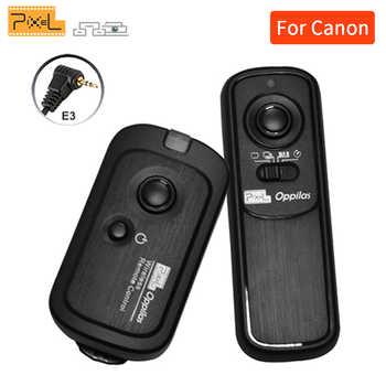 Pixel Oppilas RW-221/E3 RW-221 Sans Fil Obturateur Télécommande pour Canon 700D 1200d 450D 550D 60D 600D 650D Pentax K200 Contax