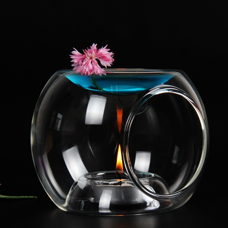 PINNY Glass Oil Burner Жоғары сапалы Candle Aromatherapy Oil Lamp Сыйлықтар және қолөнер Home Decorations Aroma Furnace
