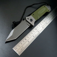 New Sale EDC Tool Custom DA35 Folding Tactical Survival Knife Outdoor Camping Tool Knives G10 Handle