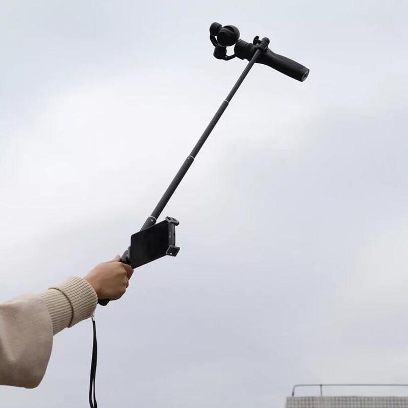 DJI Осмо расширение Удочка масштабируемой расширение stick/монопод для Ji Осмо/+/Осмо мобильный 4 К аксессуары для стабилизаторов фотокамер