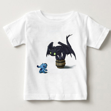 2018 Summer T-Shirts For boy New Fashion children Short Sleeve Tshirt Cotton T Shirts boys How To Train Your Dragon T-shirt MJ