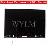 For Asus Zenbook UX301 UX301L UX301LA Laptop LCD Display Panel +Touch Screen Digitizer Glass Sensor Assembly Upper Half Part