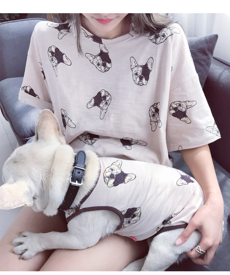 Fam Goals Bundle - Frenchie Pattern (Tee + Vest sold separately)