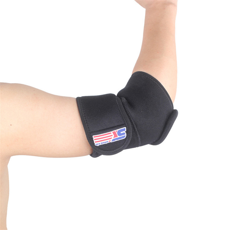 Pressure Sports Elbow Brace Outdoor Men Running Bodybuilding Elbow Protector Gear Support Elbow Pads Gym Protection Gear