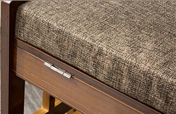 Rak kasut buluh Rak simpanan Penyelenggaraan bangku Rak perabot buluh - Perabot - Foto 6