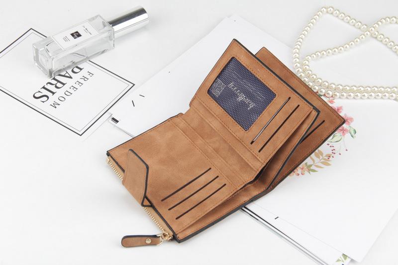 2018 кожа женщины кошелек HASP небольшие и тонкий монета карман кошелек женщин кошельки карты держатели кошельки люксовый бренд дизайнер кошелек