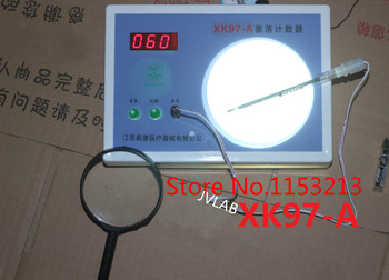 Colony counter digital semi-automatic bacteria test equipment number test XK97-A with magnifying glass and Count charcoal