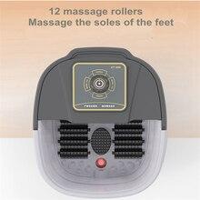 Automatische Infrarood Elektrische 12 Voet Massage Rollers Verwarmde Machine Voetverzorging Apparaat Vat Spa Bad Therapie Rollen Been Massager