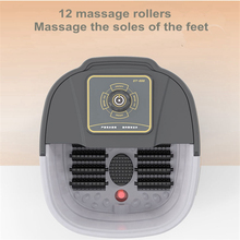 Automatische Infrarot Elektrische 12 Fuß Massage Rollen Erhitzt Maschine Fußpflege Gerät Barrel Spa Bad Therapie Rollen Bein Massager