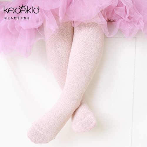 079e88fc9c202 ... 1-7T New Korean Baby Girls Bling Bling Tights 4 Colors Kids Princess Pantyhose  Spring ...