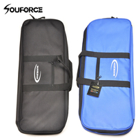 Black Blue Recurve Bow Bag Easy Carrying Bow Case For Bow And Arrow Handle Carrying Waterproof