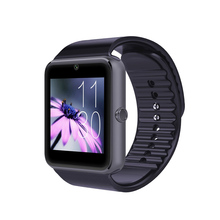 free shiping 2015 hot New Smart Watch GT08 Smartwatch Support Sim Card Camera for android phone