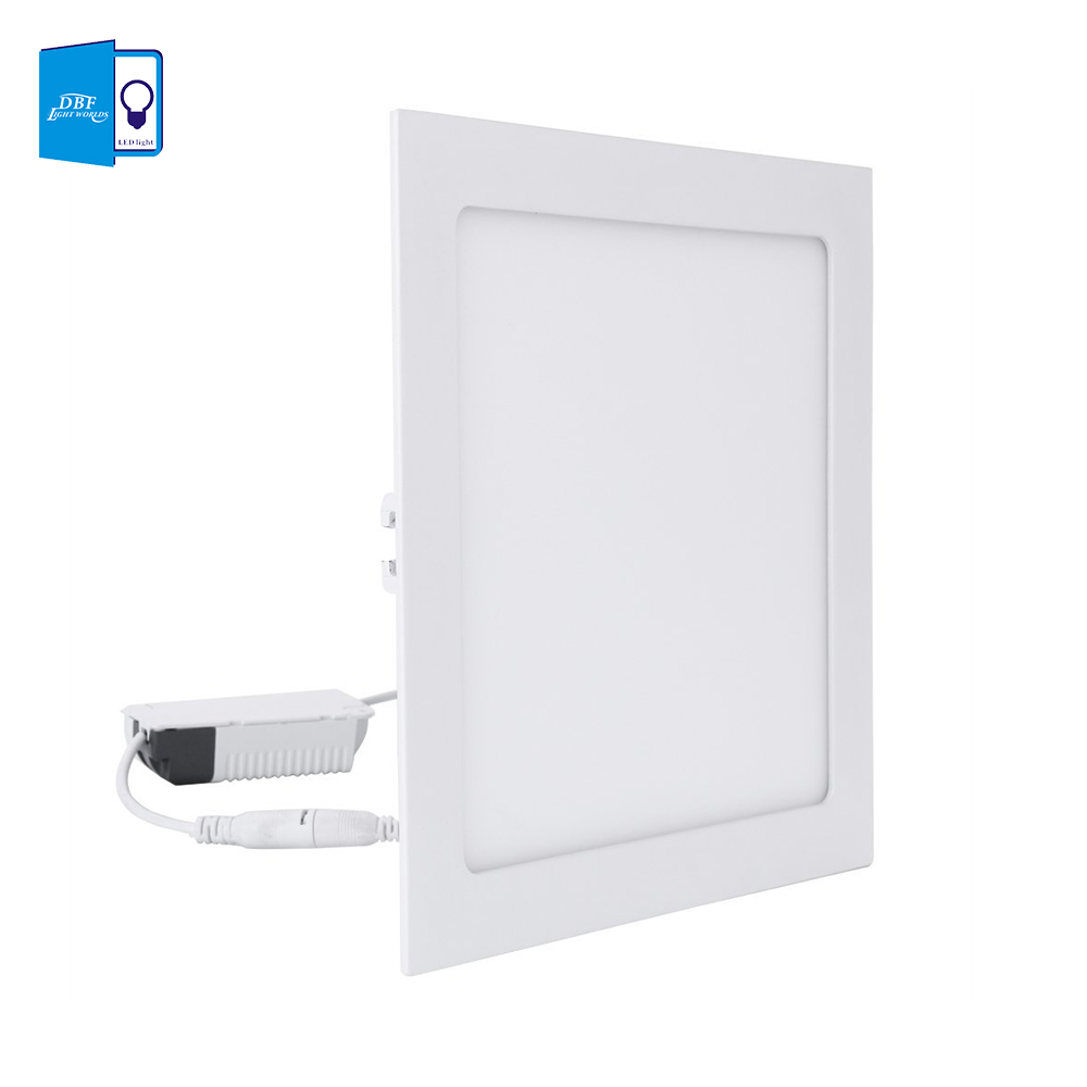 Ultra Thin 3W 4W 6W 9W 12W 15W 18W LED Ceiling Recessed Lamp Downlight Round/Square LED Panel Light Warm White/White Home Decor warm white led recessed light energy saving downlight indoor ceiling lamp pack of 4 12w 3000k