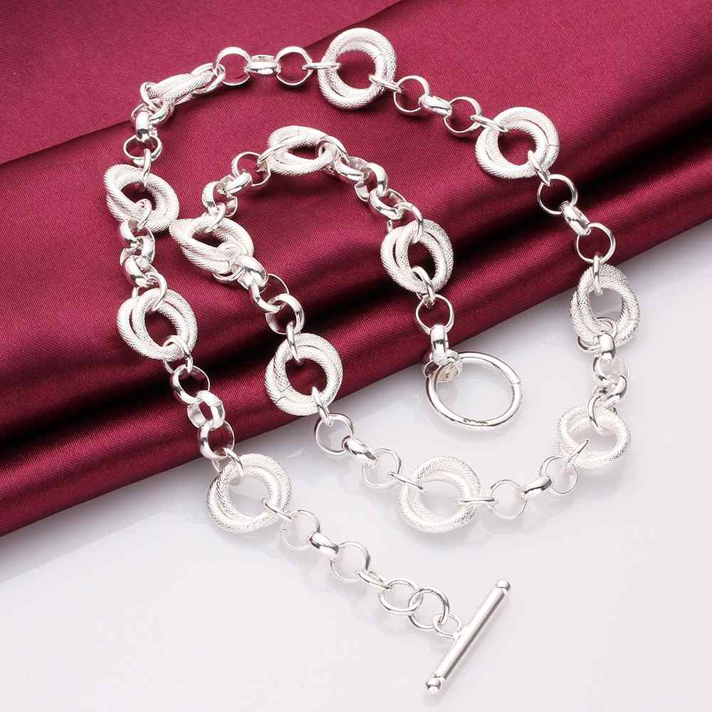 wholesale 2014 New Fashion silver plated Chain pans and shin Necklaces Pendants For Women Men jewelry SMTN644