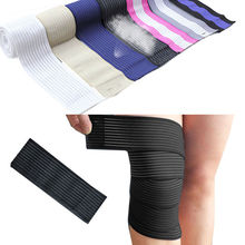 Elastic Bandage Sports Brace Knee Wrist Ankle Elbow Support Wrap Pain Relief